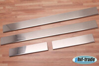Stainless Steel Door Sill V2A Matte for Hyundai i20...