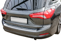 Stainless steel bumper protector for Ford Focus 4 tournament |from 2018- |with fold