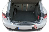 Stainless steel bumper protector for Porsche Macan |from 2014- |polished with chamfer