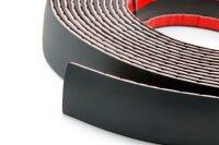 SCHWARZE Zierleiste 40mm x 8m selbstklebend universal Auto Kontur Leiste schwarz
