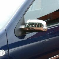 1Set Stainless Mirror Caps Chrome for Seat Toledo Arosa...