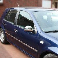 1Set Stainless Mirror Caps Chrome for Seat Toledo Arosa Ibiza León Audi A3 8L