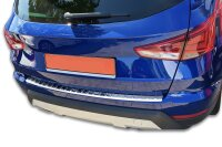 Stainless steel bumper protector for Seat Arona |from 2017- |polished with chamfer