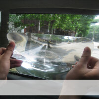 Weitwinkel Linse Heckscheibe Einpark Hilfe Fresnel Scheibe Rückfahr Lupe 20x25cm