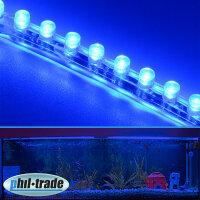24cm 24 LED Leiste Streifen BLAU Lichtleiste wasserdicht...