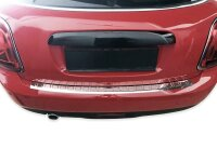 Stainless steel bumper protector for Mini F55 F56 F57, from 2014 |polished with chamfer
