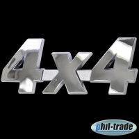 3D Chrome Emblem Sticker Logo 4x4 4-wheel Tuning Motor...