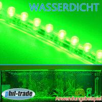 24cm 24 LED Leiste Streifen GRÜN Lichtleiste wasserdicht Aquarium Mondlicht
