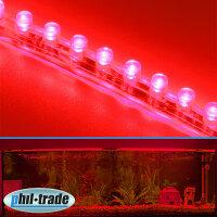 24cm 24 LED Leiste Streifen ROT Lichtleiste wasserdicht...