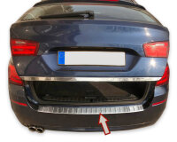 Stainless steel bumper protector for BMW 5 Series F11 Touring 2010-17 |polished + chamfer