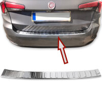 Stainless steel bumper protector for Fiat Tipo Kombi |Type 356 |2015- |with fold