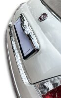 Stainless steel bumper protector for Fiat 500 |500C |2007-2015 |polished + chamfer