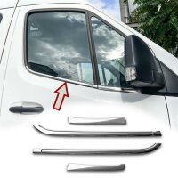 Stainless Steel Window Chrome For Mercedes Vito, V Class W447 Since 2014- 2tlg
