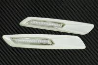 LED Seiten Blinker Perlmutt Weiß für BMW 3er E90 | E91 | E92 | E93