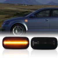 LED SEITENBLINKER für AUDI A3 + Sportback | Typ 8P | 2003-2008 | SCHWARZ