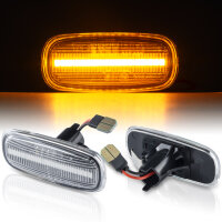 LED SEITENBLINKER für AUDI A2 8Z | A3 8L | A4 8D | A6 C5 | KLARGLAS