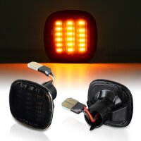 LED SEITENBLINKER für AUDI A3 8L, A4 B5, A8 D2 | SEAT IBIZA 6K | SCHWARZ