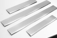 Stainless Steel Door Sill Matte 4tlg for Land Rover Discovery III 3 2004-2009