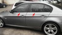 EDELSTAHL FENSTERLEISTEN CHROM für BMW 3ER E90 | BJ...
