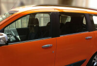 Stainless Steel Window Chrome For Dacia Lodgy From 2012- 4TLG Set Polished