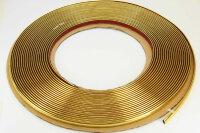 GOLD Chrom Zierleiste 8mm x 15m selbstklebend universal Auto Goldleiste Kontur