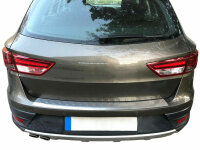 Bumper Stainless Steel Matte for Seat Leon St from Yr...