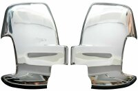 Set Stainless Steel Mirror Casing for Ford Transit 7 Year...