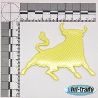 3D Carbon Emblem Sticker Logo Taurus Zodiac Sign Bull Bull Torro Taurus L002