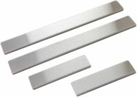 4 x Door Sill for Dacia Duster II Year from 2018 Stainless Steel Matte Brushed