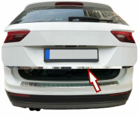 Stainless Steel Chrome Boot BAR Lower For VW Tiguan II...