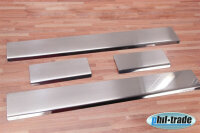 Stainless Steel Door Sill V2A Matte for Kia Picanto with Splay New