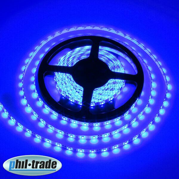 Blue LED bar 5m 300 x 1210 (3528) SMD Stripes Stripe Strip Blue Hose