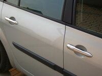 Chrome Door Handle Covers Set Stainless Steel for Renault Laguna 2 Espace 4