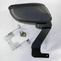 Center Armrest Armrest with Compartment for Dacia Duster Exact Fit Black ARM-1
