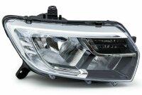 Original Dacia Logan Headlight Right LED Daytime Running Lights from Yr 2017 >