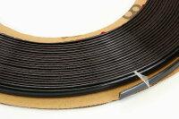 SCHWARZE Zierleiste 8mm x 15m selbstklebend universal Auto Kontur Leiste schwarz