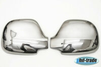 1 Set Stainless Steel Mirror Caps Chrome for Mercedes...