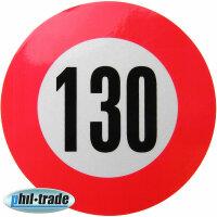 130 Km/H Speed Sticker Speed Car Truck Bus Car