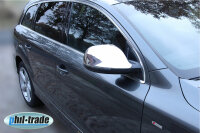 2 x Stainless Steel Covers Chrome for Audi Q7, Type 4L,...