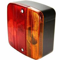 2x Rear Light 2 Chamber Light Pendant Addition Trailer Stvo-Zulassung Rear Light