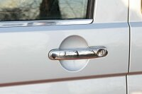 4 x Stainless Steel Door Handle Cover Chrome for VW T5 T6 Touran Caddy 2003>