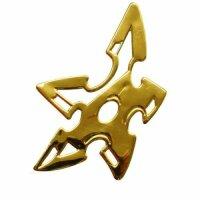 Sticker Gold Chrome 3D Emblem Ninja Stern Car Motorcycle...