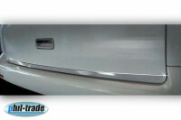 Stainless Steel Chrome Boot BAR Lower For VW T5 With Tailgate Yr 2003-2015
