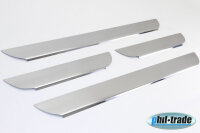 Stainless Steel Door Sill V2A Matte for Kia Ceed 2012 4tlg Set