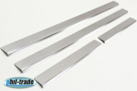 Stainless Steel Door Sill V2A Matte for Mercedes Benz W163 M Class 4tlgSet 2005