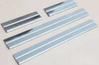 Stainless Steel Door Sill V2A Matte for Nissan Qashqai j10 4tlg