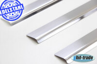 Stainless Steel Door Sill V2A Matte for VW Golf 5 since...