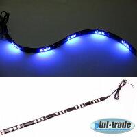 LED bar Beam Strip Light 12V Xenon Blue 30cm 15 x 5050 SMD Adhesive