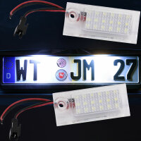LED License Plate Light for Audi A6 Saloon Type C5...