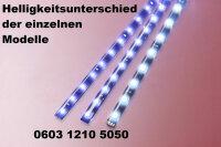 LED bar Stripe Stripes 12V Blue 30cm 15 x 1210 SMD Adhesive Strip Light